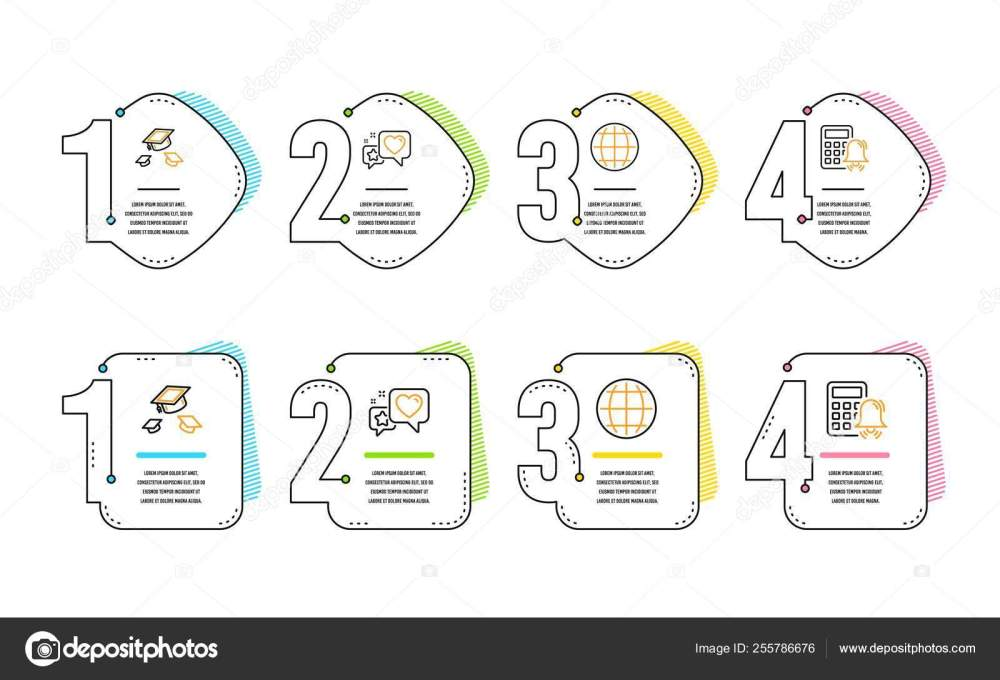 medium resolution of heart globe and throw hats icons simple set calculator alarm sign star rating internet world college graduation accounting infographic timeline line