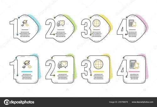small resolution of heart globe and throw hats icons simple set calculator alarm sign star rating internet world college graduation accounting infographic timeline line