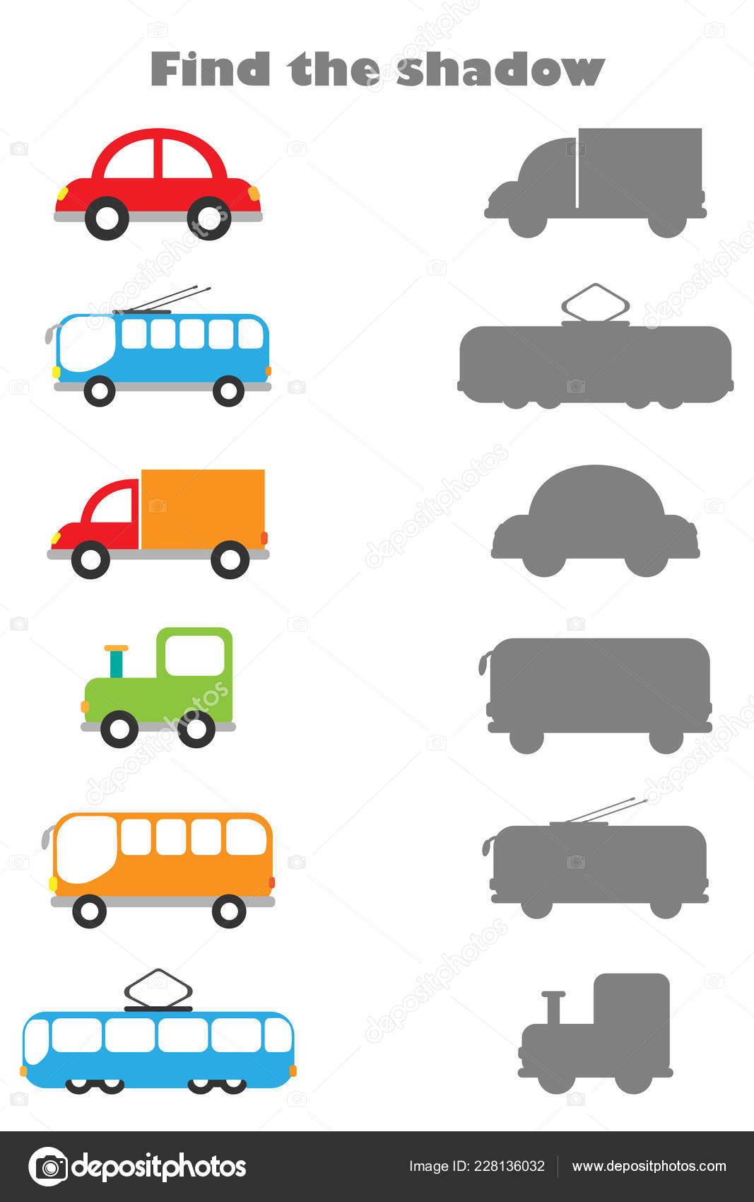 Preschool Kinds Of Transportation Worksheet