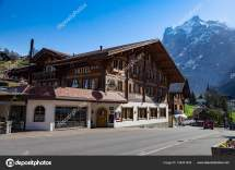 Grindelwald Berne Switzerland April Hotels Shops