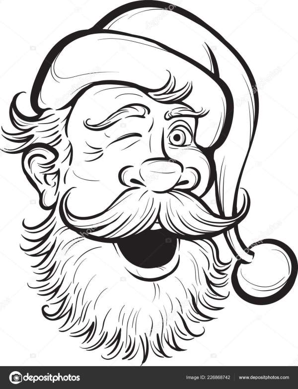 coloring pages of santa claus # 20