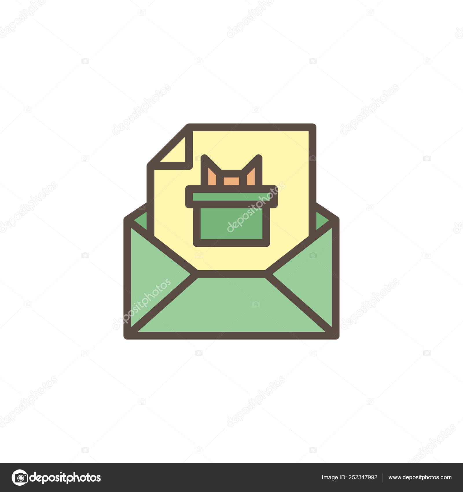 https depositphotos com 252347992 stock illustration envelope with invitation card filled html