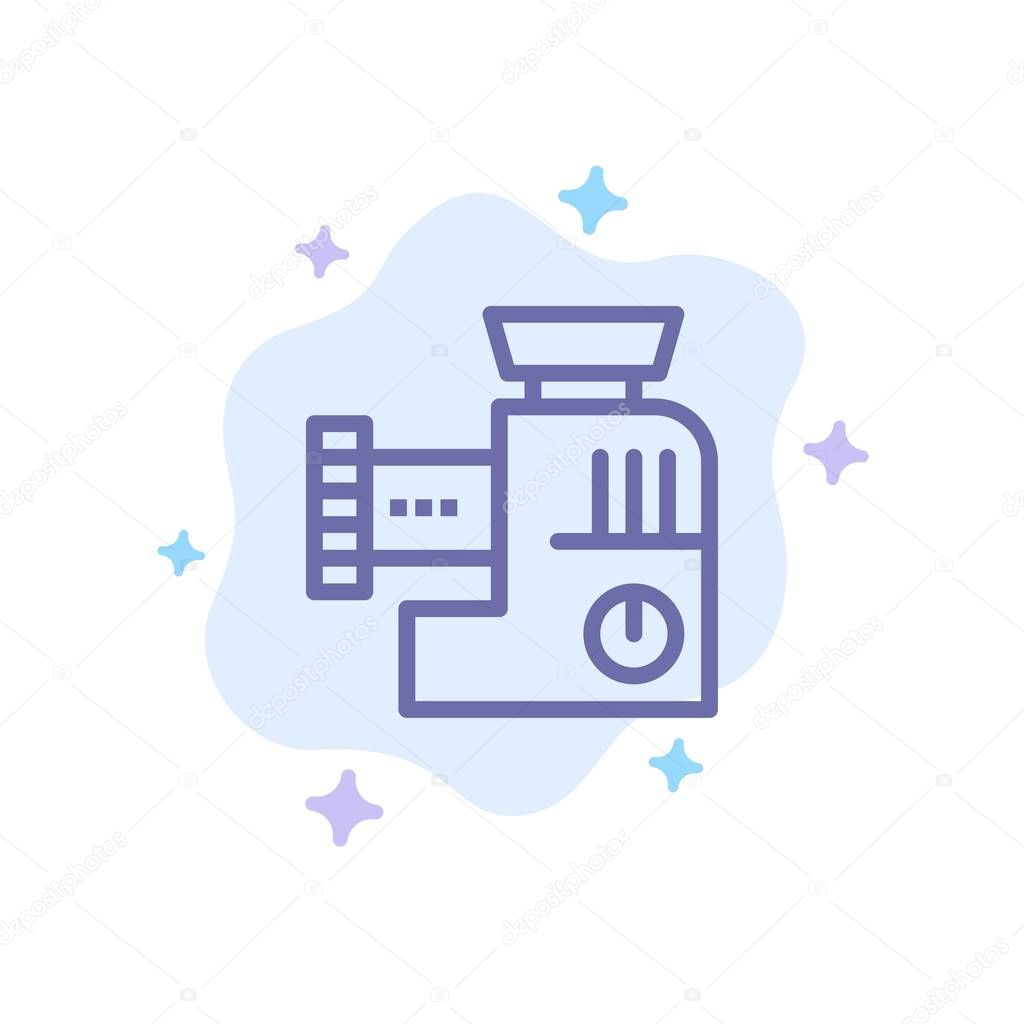 Discover 2 cloud kitchen logo designs on dribbble. Mixer Kitchen Manual Mix Blue Icon On Abstract Cloud Background Premium Vector In Adobe Illustrator Ai Ai Format Encapsulated Postscript Eps Eps Format