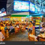 The Food Court Of Outdoor Restaurants Patong Phuket Thailand Stock Editorial Photo C Efesenko 273122646