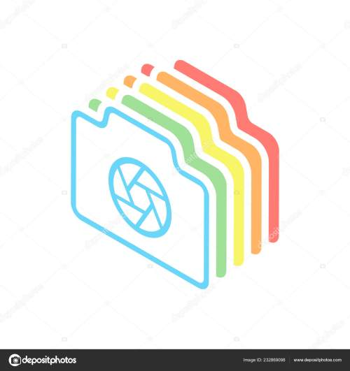 small resolution of photo camera shutter linear symbol thin outline simple icon stack stock vector