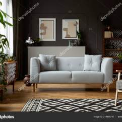 Dark Grey Living Room Carpet Teal Ideas Real Photo Interior Posters Molding Wall Of With And On The Patterned Fresh Plants Bright Couch By Photographee