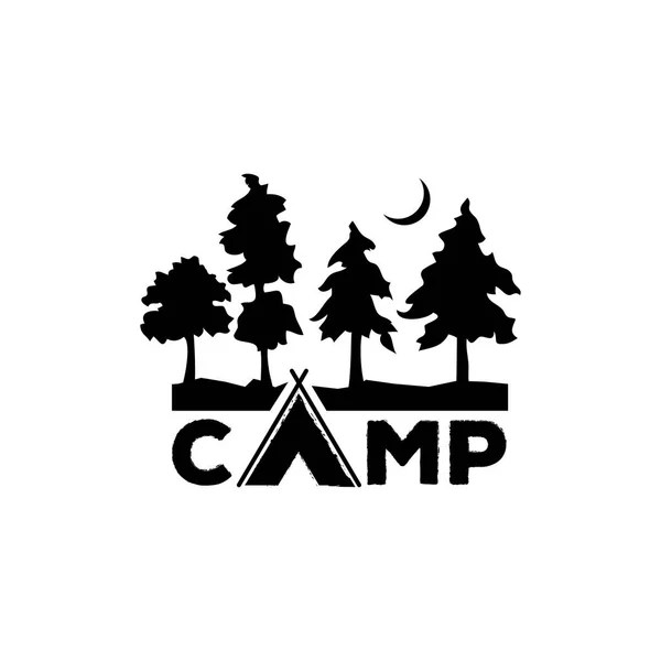 Camp Vector Logo Logo Camping Logo Element Emblem Outdoor
