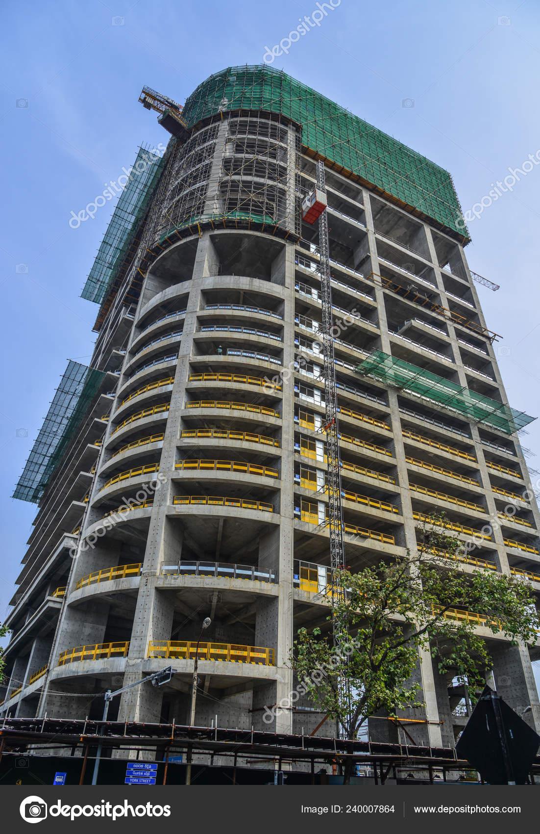Colombo Sri Lanka Dec 2018 Construction Site Colombo Sri