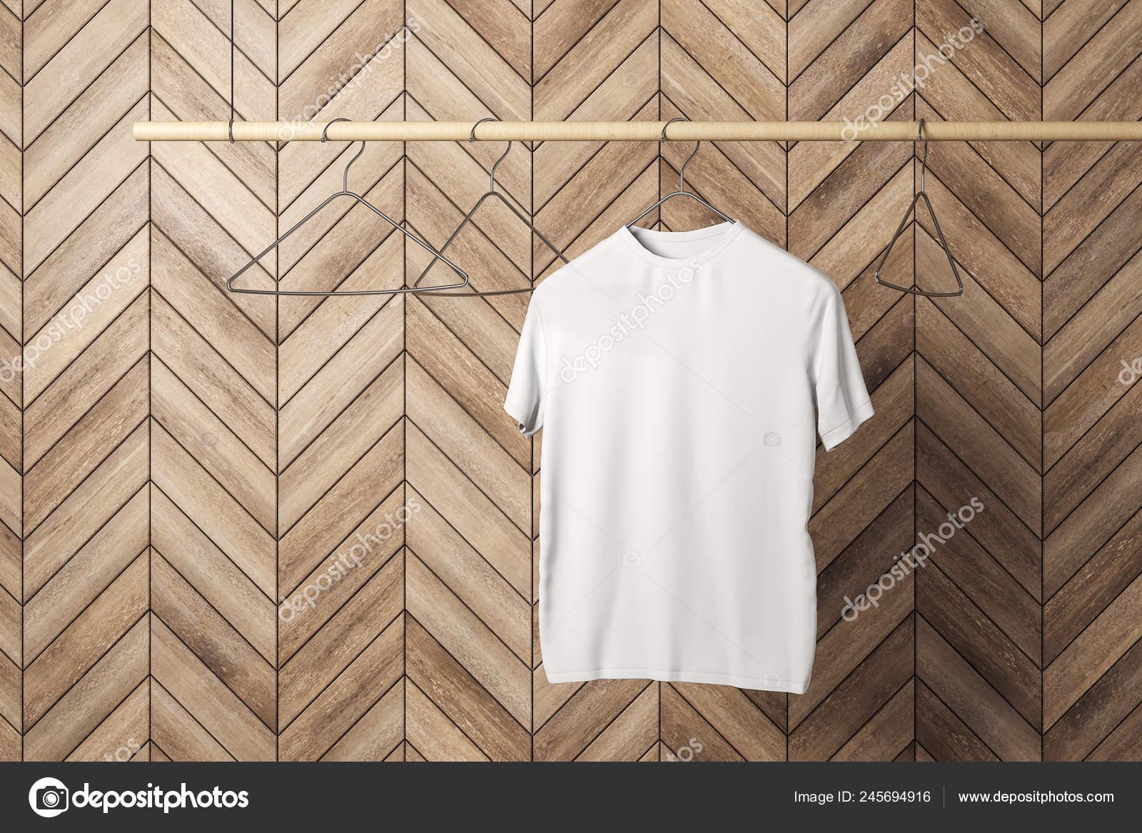 https depositphotos com 245694916 stock photo empty one white tshirt hanger html