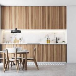 White Round Kitchen Table Coffee Themed Items 木制和灰色的墙壁餐厅内部有一个圆形的木制桌子和白色和木制的椅子渲染 白色厨房内部与灰色台面一张圆木桌