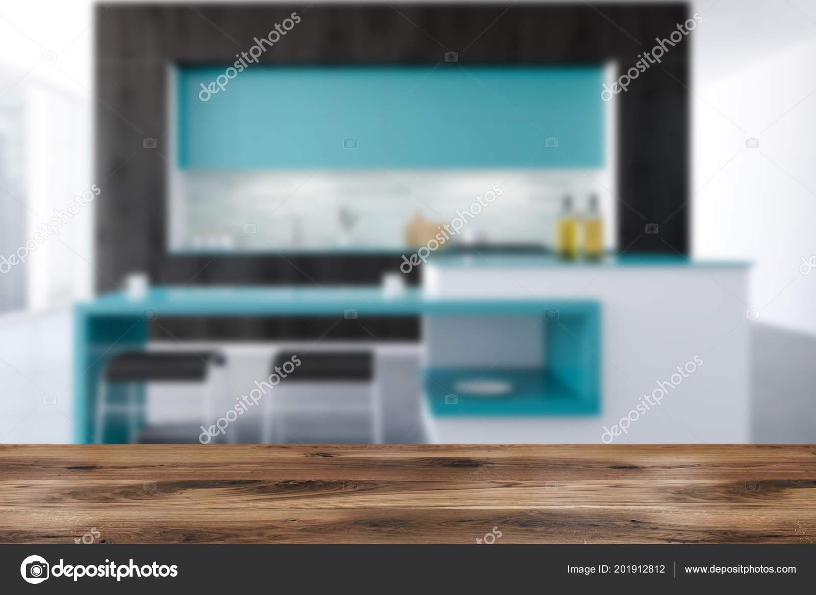primal kitchen bars table with drawers 黑白原始厨房内部有混凝土地板黑色和蓝色台面和阁楼窗口渲染模拟模糊 黑白原始厨房内部有混凝土地板 黑色和蓝色台面和阁楼窗口 酒吧 3d 渲染模拟模糊 照片作者denisismagilov
