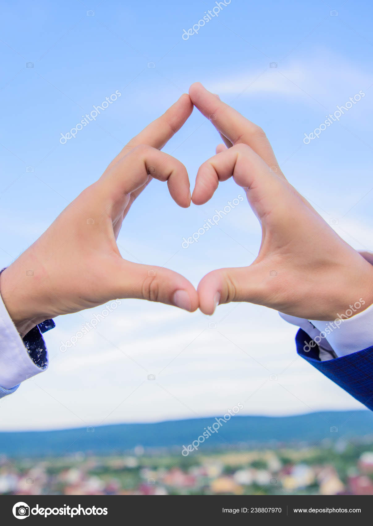 Put Picture In Heart Shape : picture, heart, shape, Hands, Heart, Shape, Gesture, Symbol, Romance., Forms, Using, Fingers., Together, Background., Concept, Stock