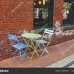 Small Table Chairs Outdoor Cafe Stock Editorial Photo C 678studio 298698344