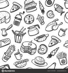 cocina utensilios colorear dibujos coloring animados dibujo alimentos cartoon ultra fondo