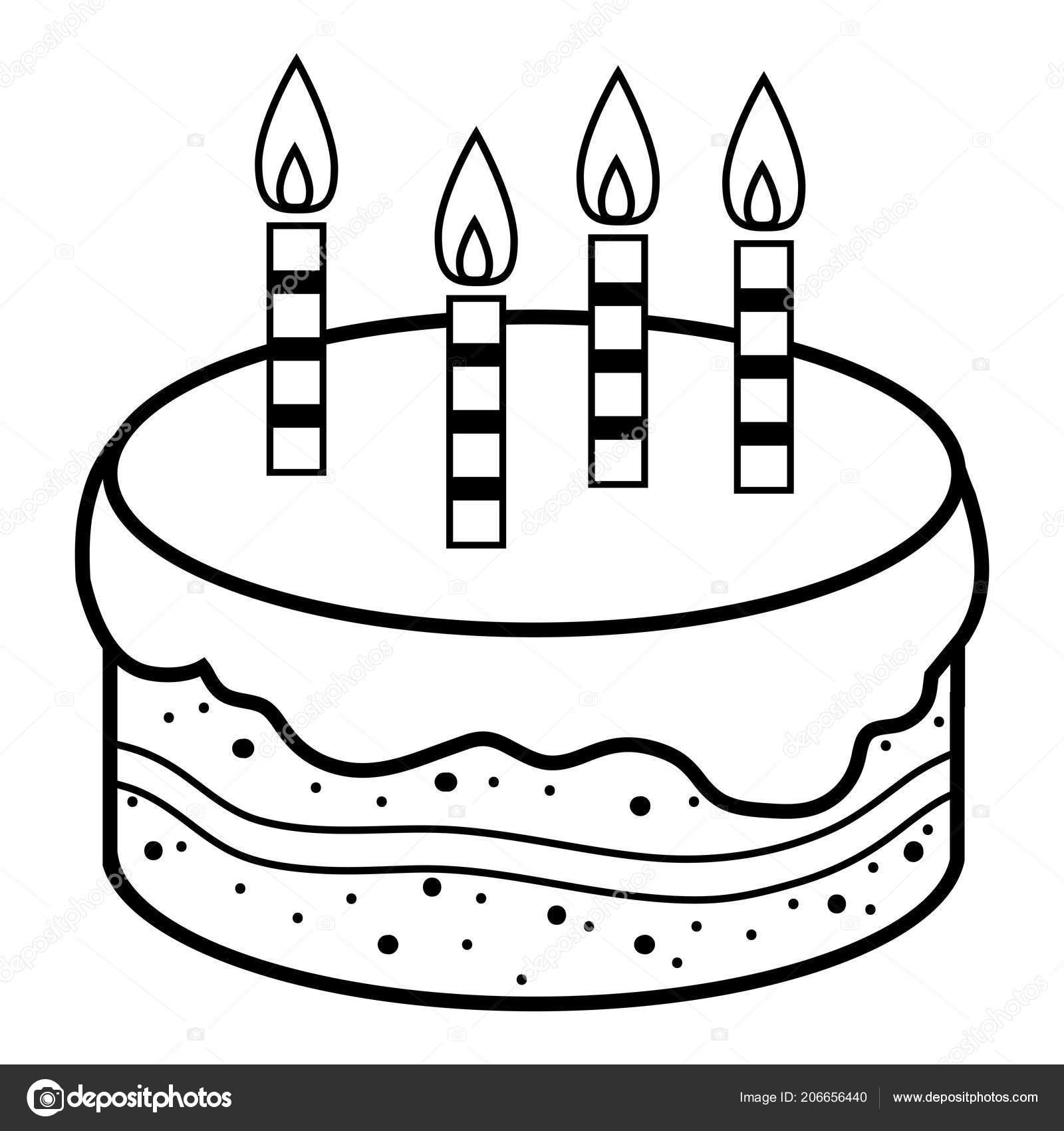 Picture Printable Birthday Cake