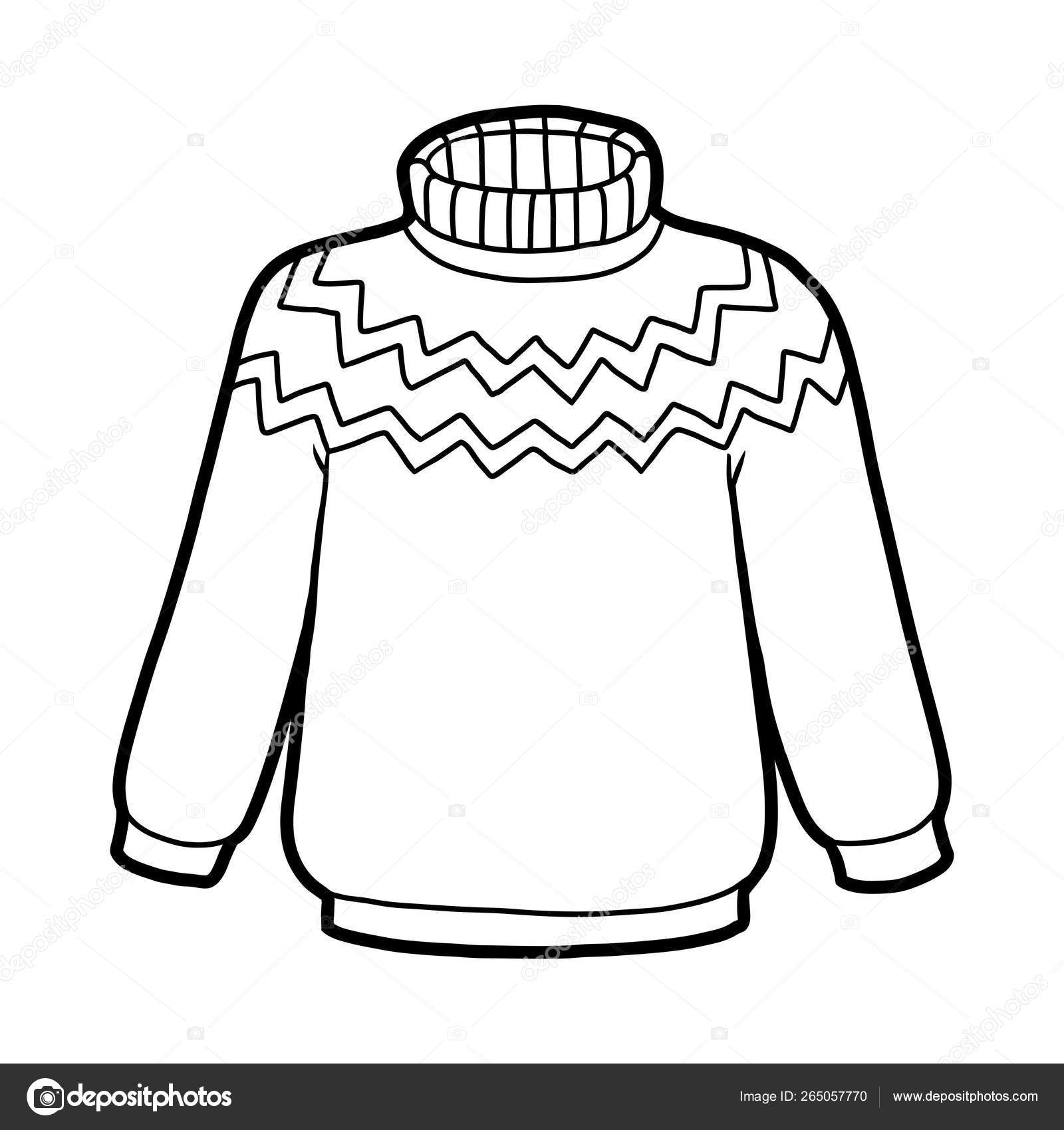 Coloring Book Sweater