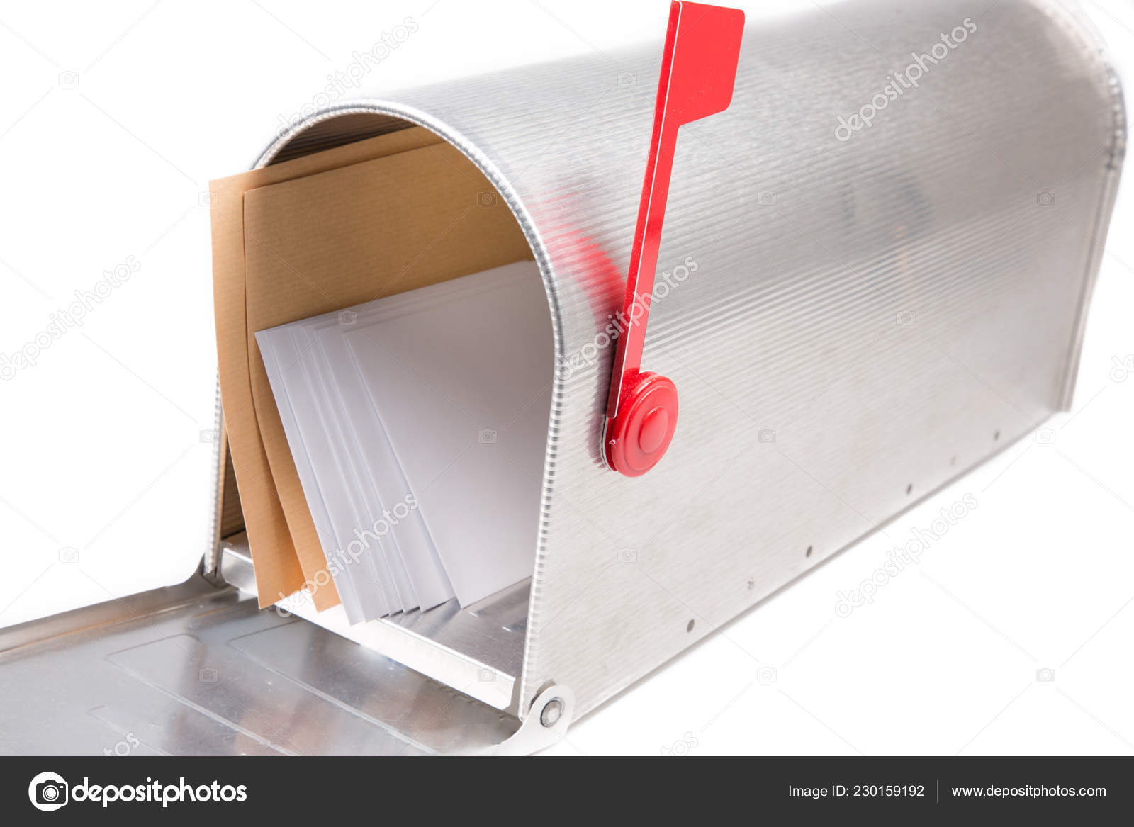 open usa mailbox envelope