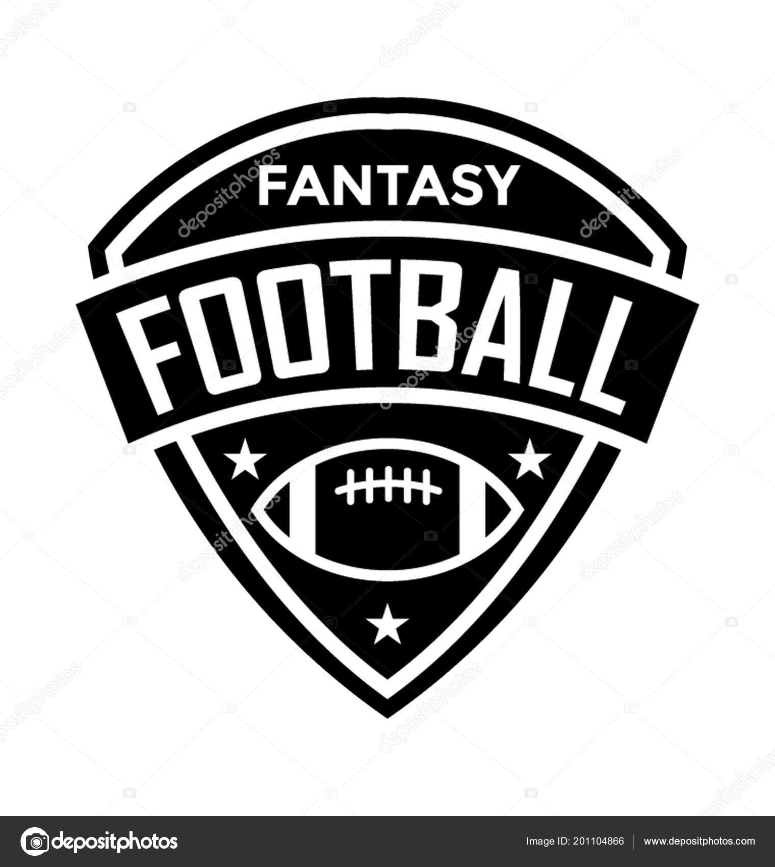 fantasy football flat vector