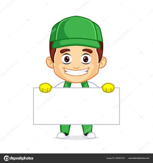 small resolution of cleaning service clipart cartoon mascot ilustraci n de stock
