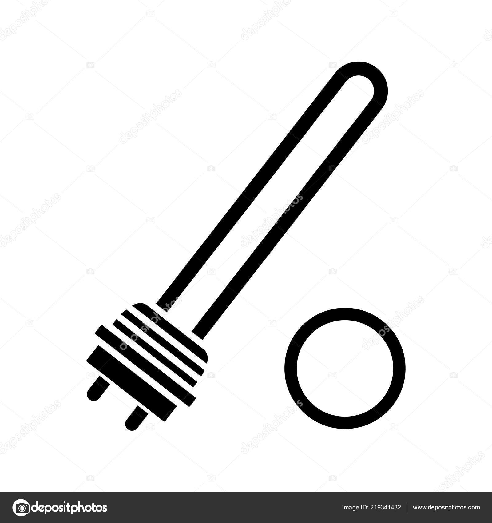 Symbol Of Immersion Heater