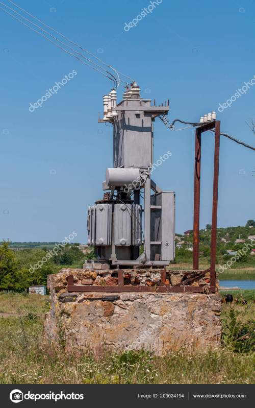small resolution of electrical transformer stone stand old high voltage power station stock photo
