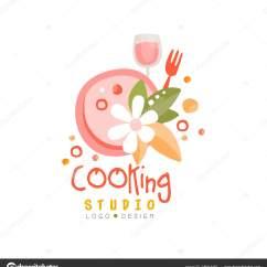 Kitchen Signs For Work Stainless Steel Top Island 厨房手绘图库厨师烹饪徽标 Www Thetupian Com 烹饪工作室标志设计会徽可用于烹饪类学校课程手绘向量隔离在