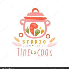 Kitchen Signs For Work Drop Leaf Island 厨房手绘图库厨师烹饪徽标 Www Thetupian Com 时间烹饪工作室标志设计厨房标志可用于烹饪类课程学校手绘矢量