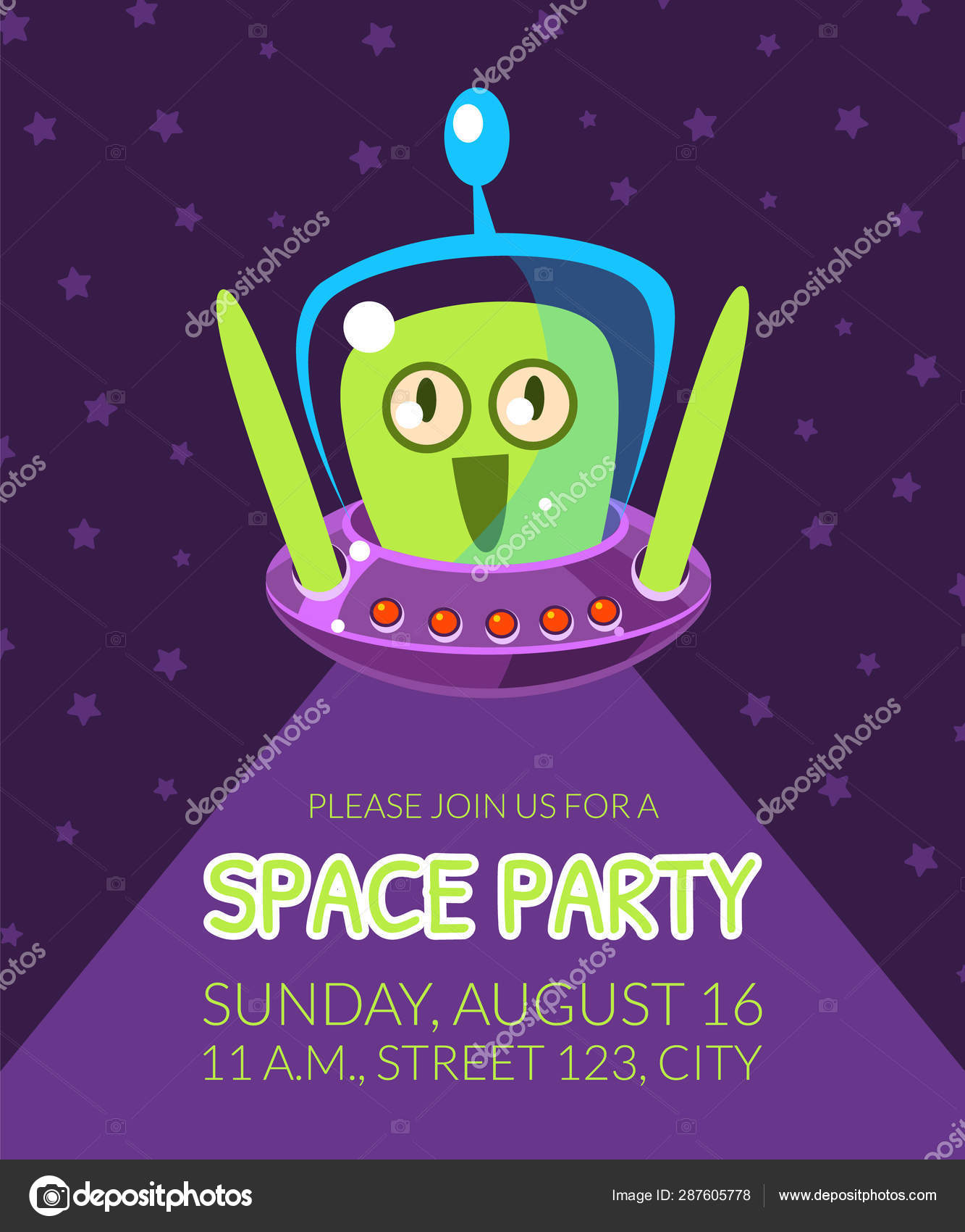 https depositphotos com 287605778 stock illustration space party banner template with html