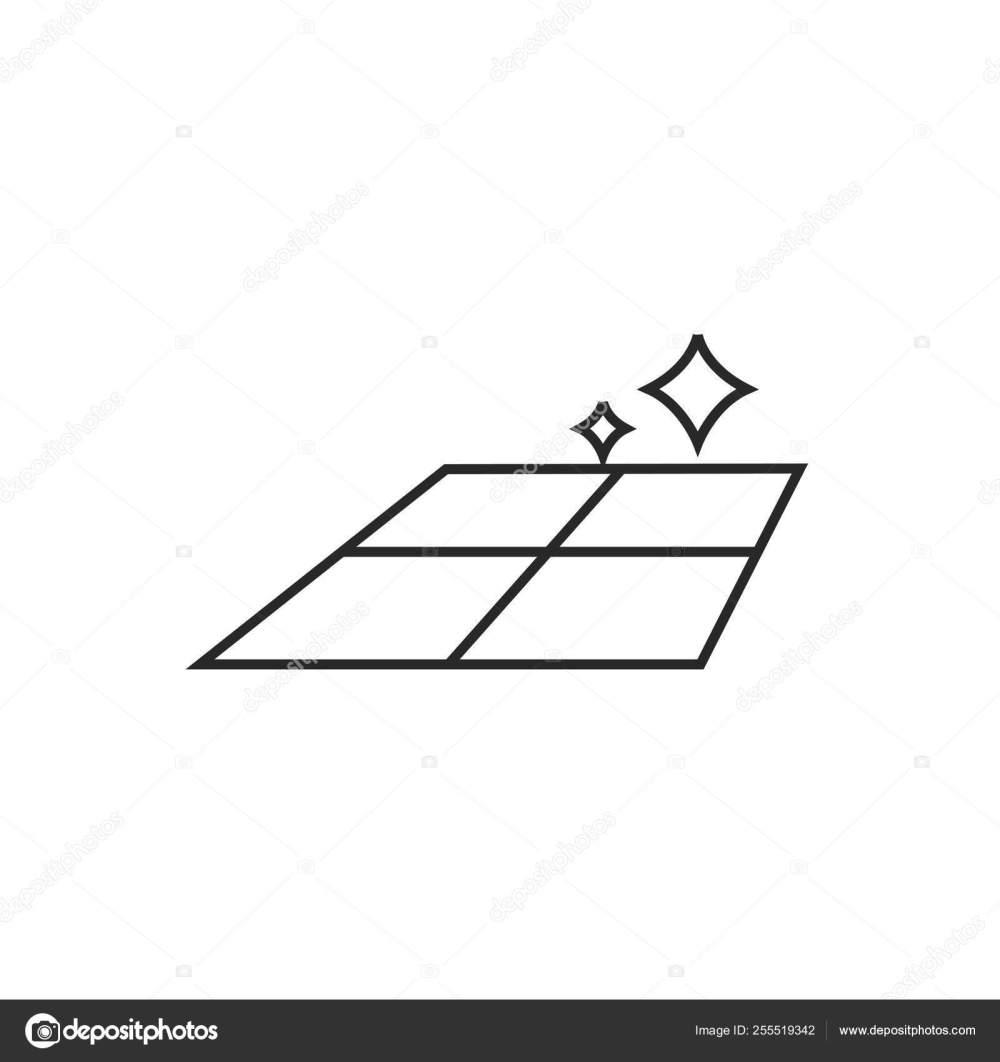 medium resolution of ceramic tile illustration tiled floor vector outline icon stock illustration