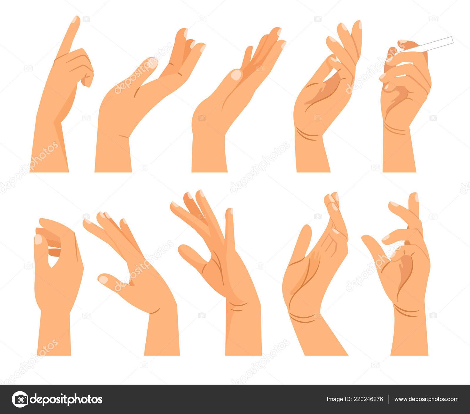 hand gestures in different