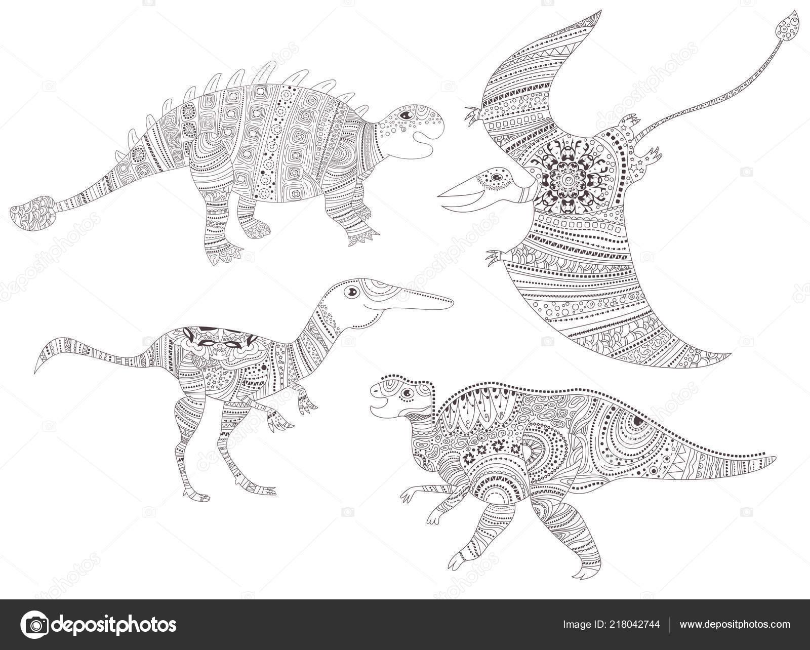 Malvorlagen Kinder Dinosaurier - Kinder zeichnen und ausmalen
