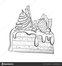 sweet beautiful dessert clipart for a restaurant [ 1600 x 1700 Pixel ]