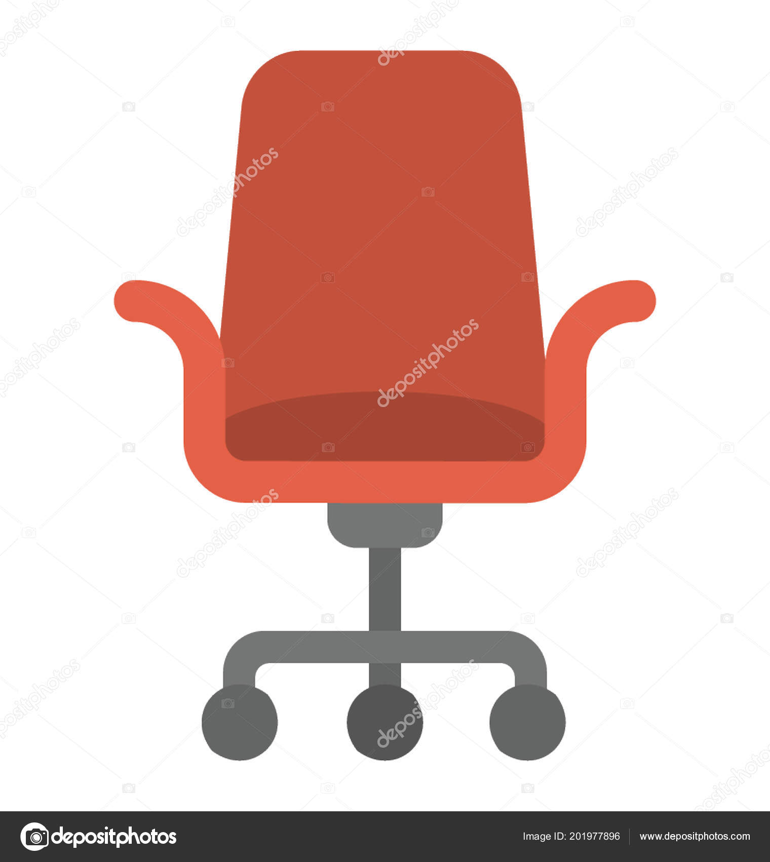 chair for office use design autocad block mesh revolving swivel stock vector a illustration