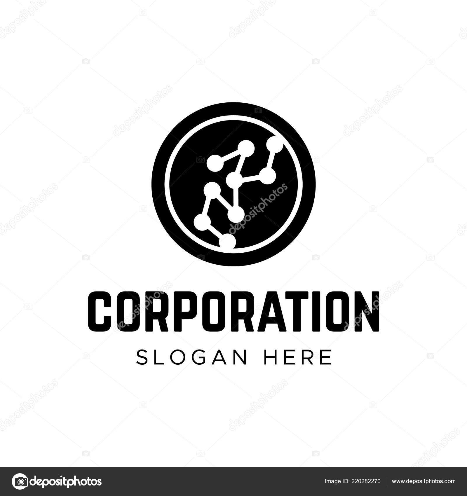 Empresa Insignia Tecnologia Globe Logotipo Datos