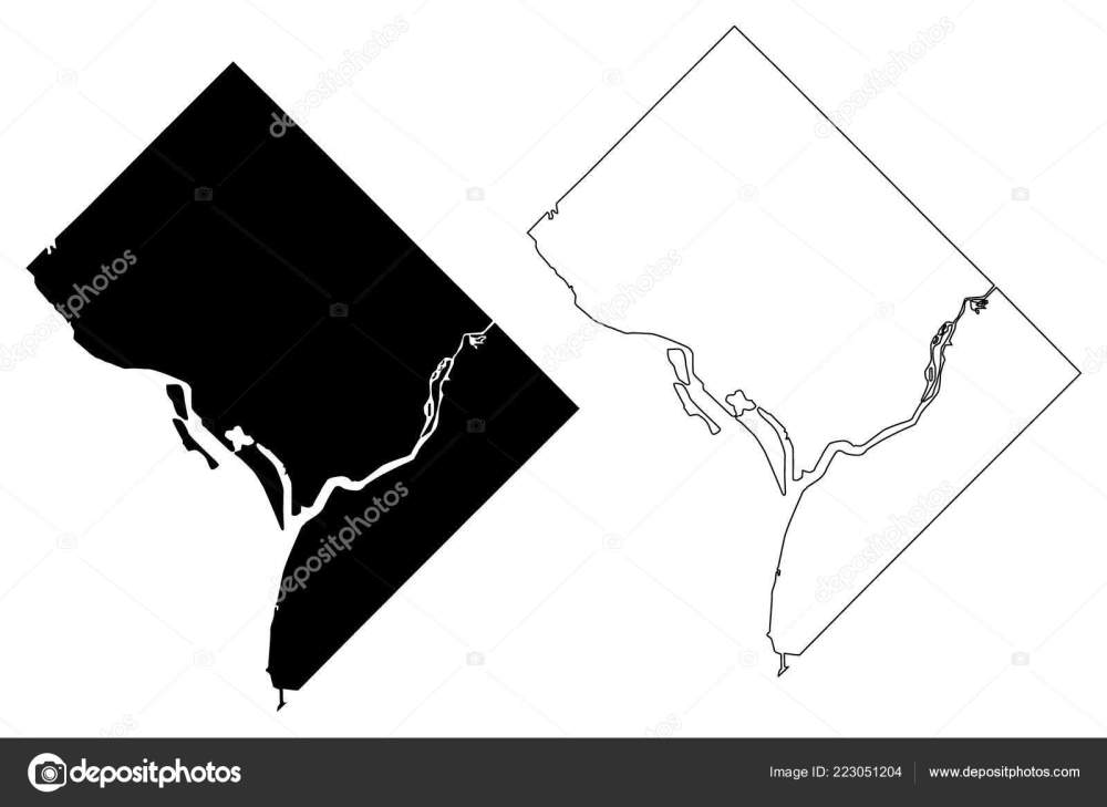 medium resolution of washington city united states cities united states of america usa city map vector illustration scribble sketch city of washington d c district of