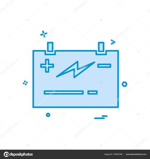 small resolution of battery power jumper icon vector design stock illustration