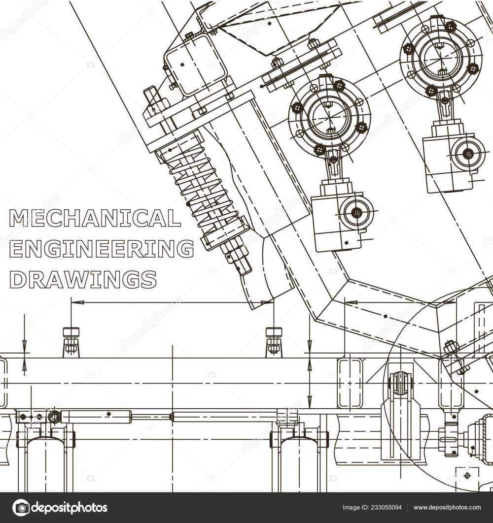 medium resolution of computer aided design systems instrument making drawings blueprint diagram plan sketch vector by bubushonok
