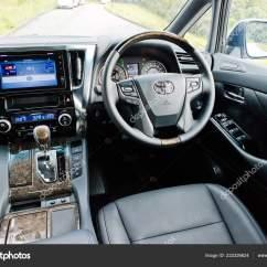 All New Alphard Interior Spesifikasi Vellfire Hong Kong China May 2018 Toyota Stock Photo