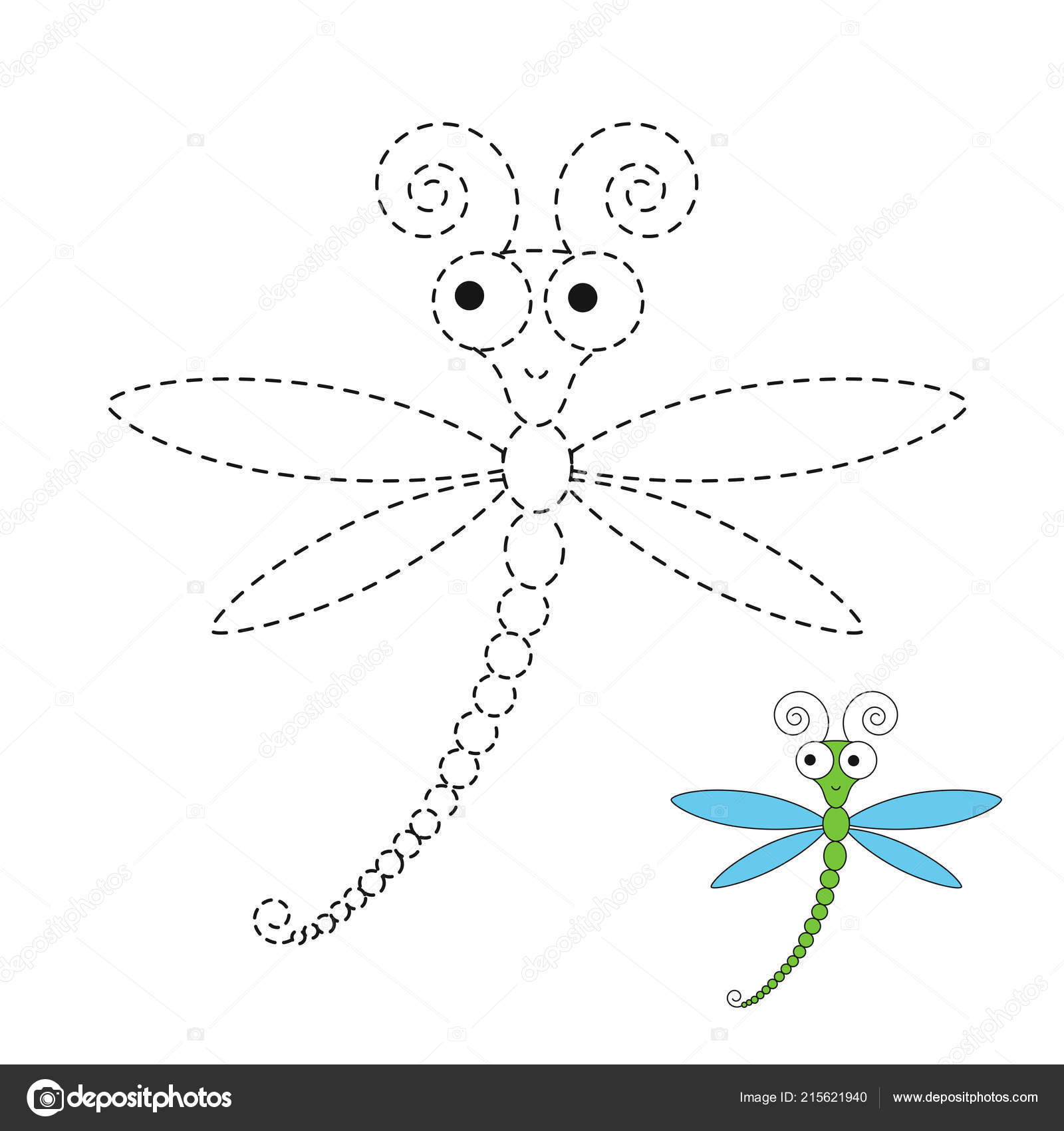 Drawings Easy Of Dragonflies
