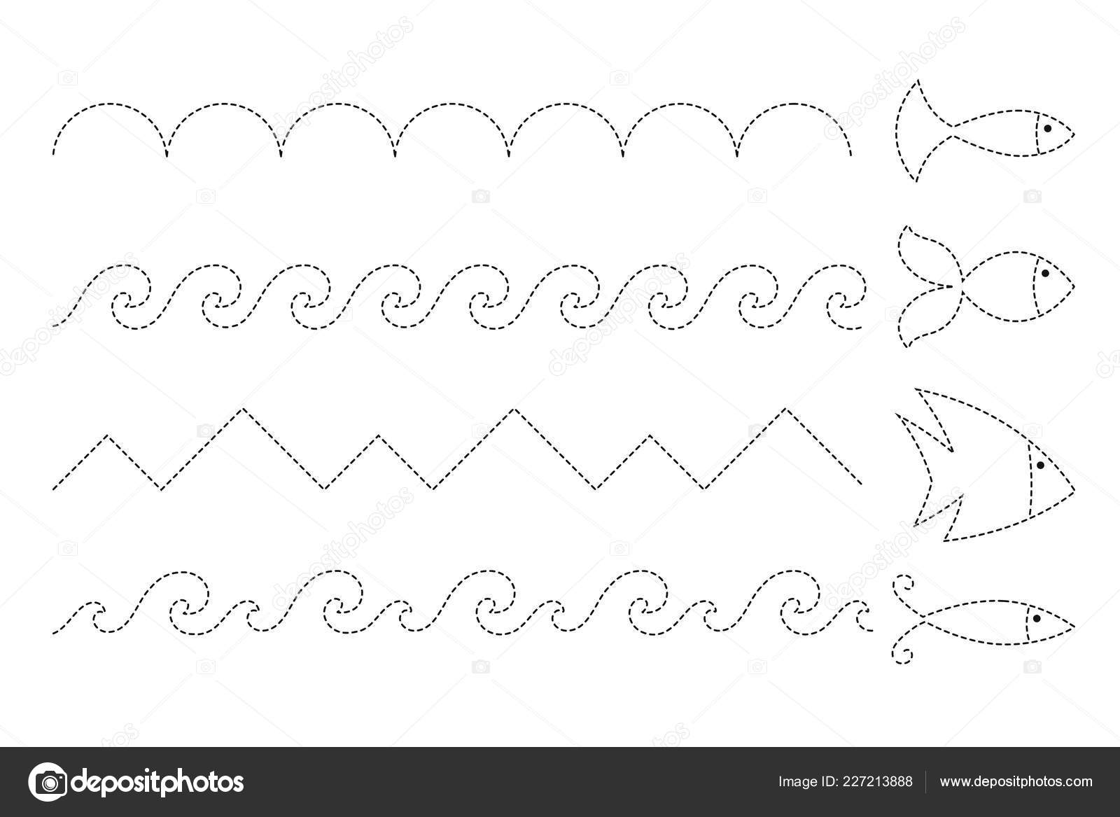Drawing Waves Worksheet