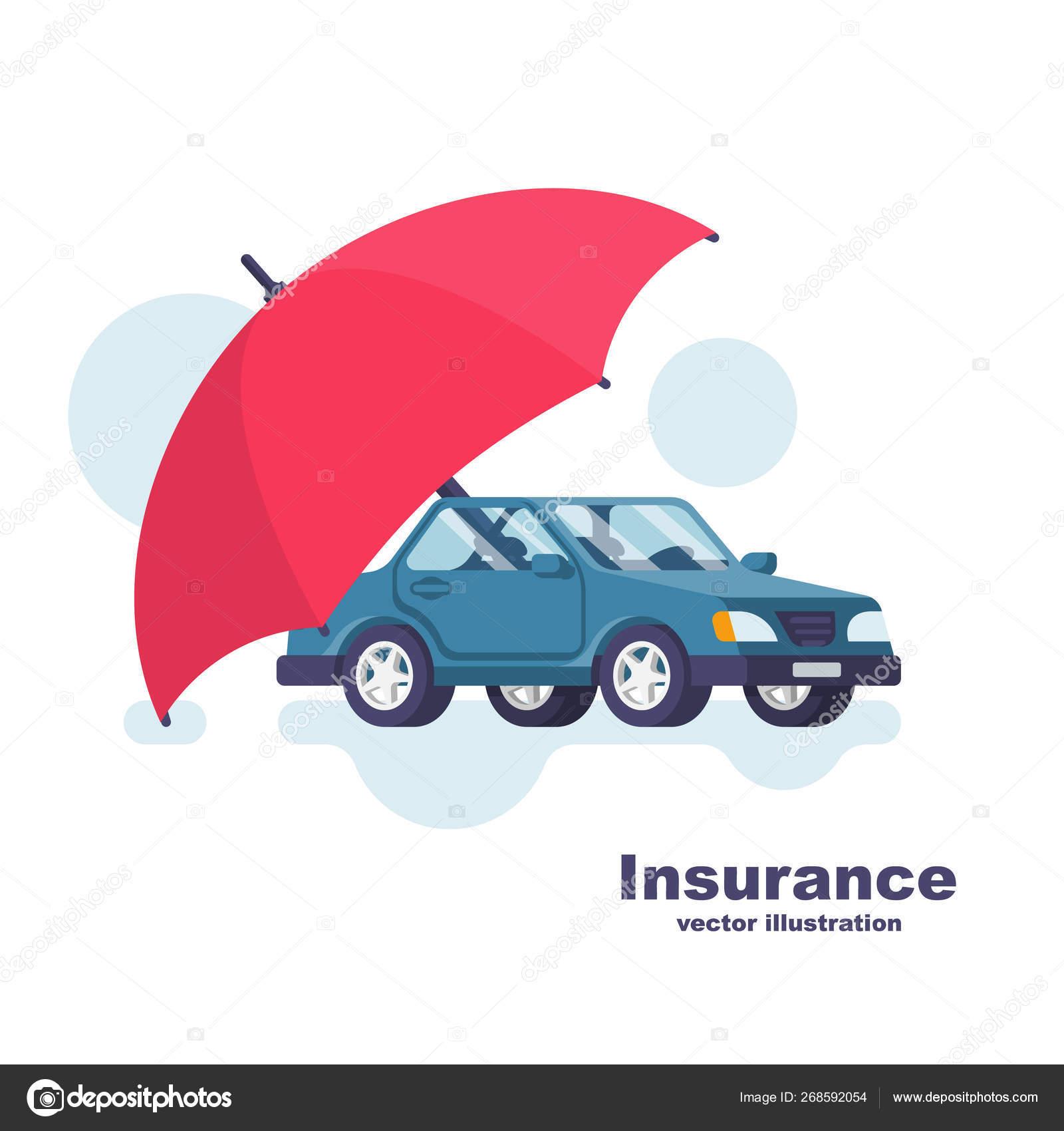 Car Safety Umbrella
