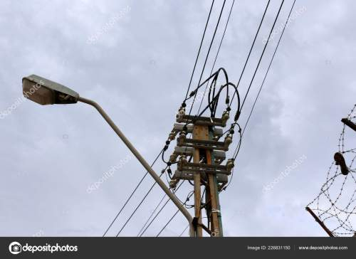 small resolution of electrical wires support which electricity stock photo
