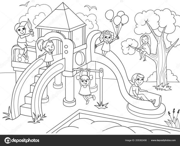 playground coloring pages # 31