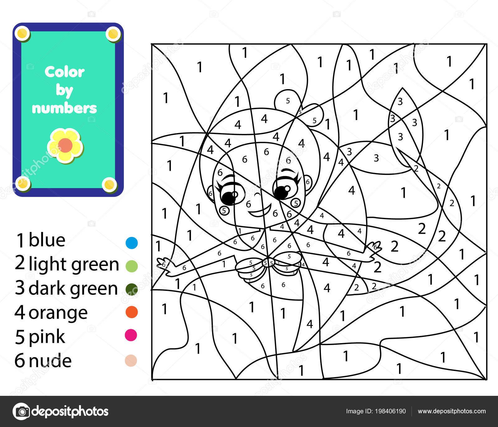 Juego Educativo Los Ninos Pagina Sirena Para Colorear