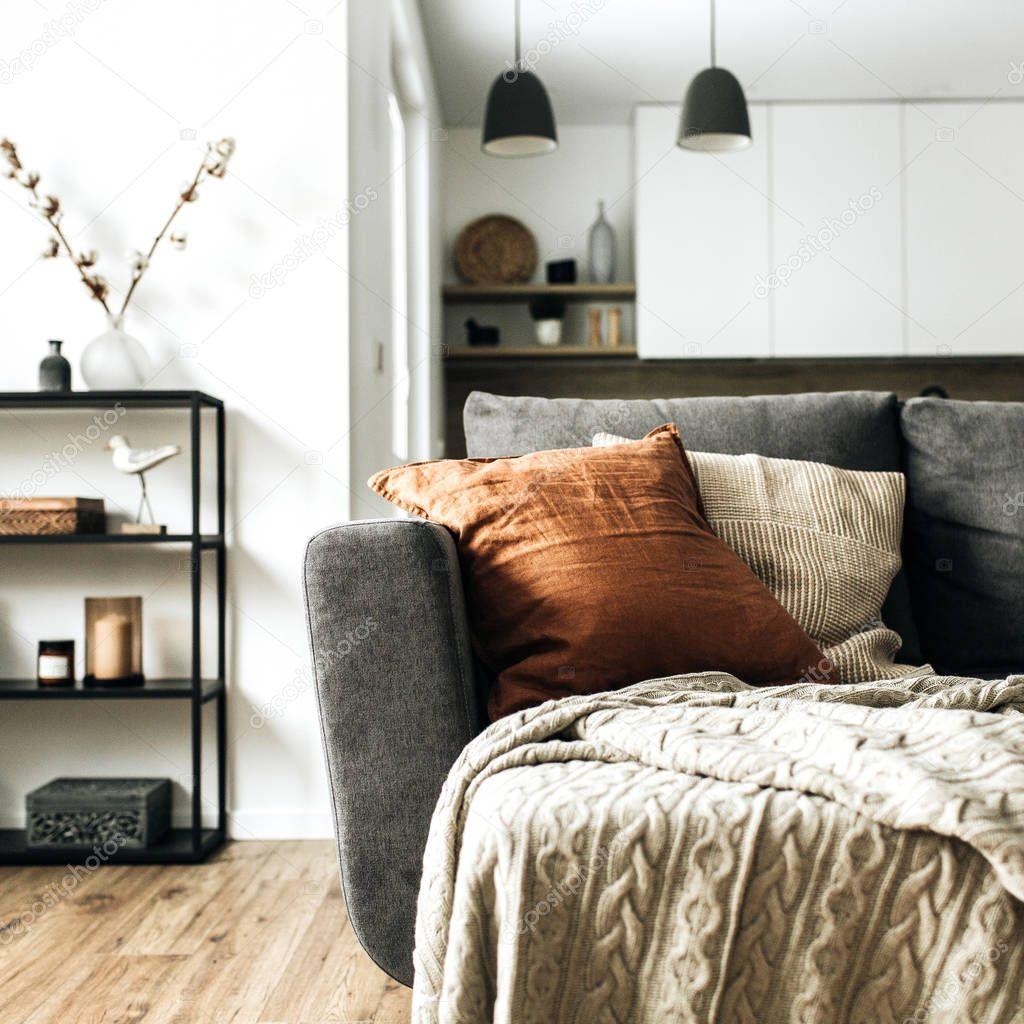 Modern Nordic Scandinavian Interior Design Bright Open ...