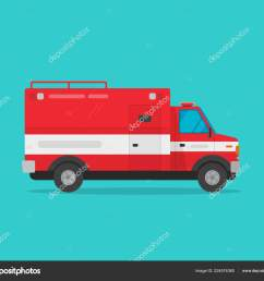 fire truck vector illustration flat cartoon firetruck emergency vehicle isolated on blue color background clipart [ 1600 x 1386 Pixel ]