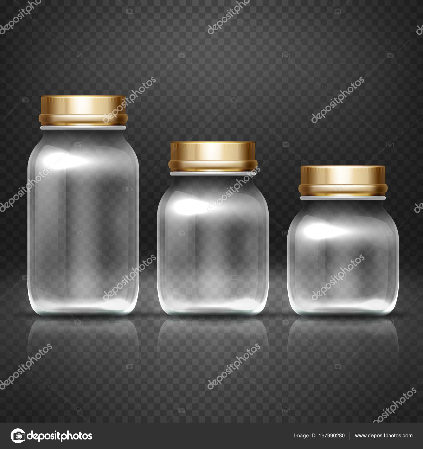 kitchen jars remodeling chicago 带检测限的空玻璃罐子厨房罐头保存向量集 图库矢量图像 c microone 图库矢量图片