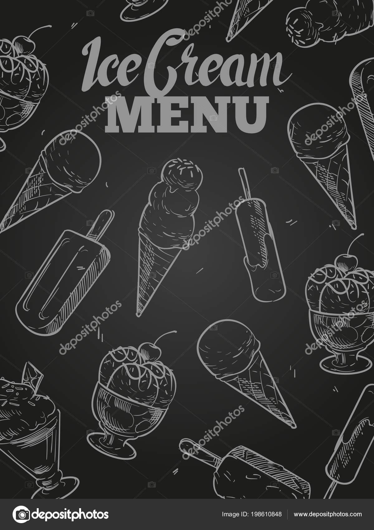 https depositphotos com 198610848 stock illustration ice cream menu cover blackboard html