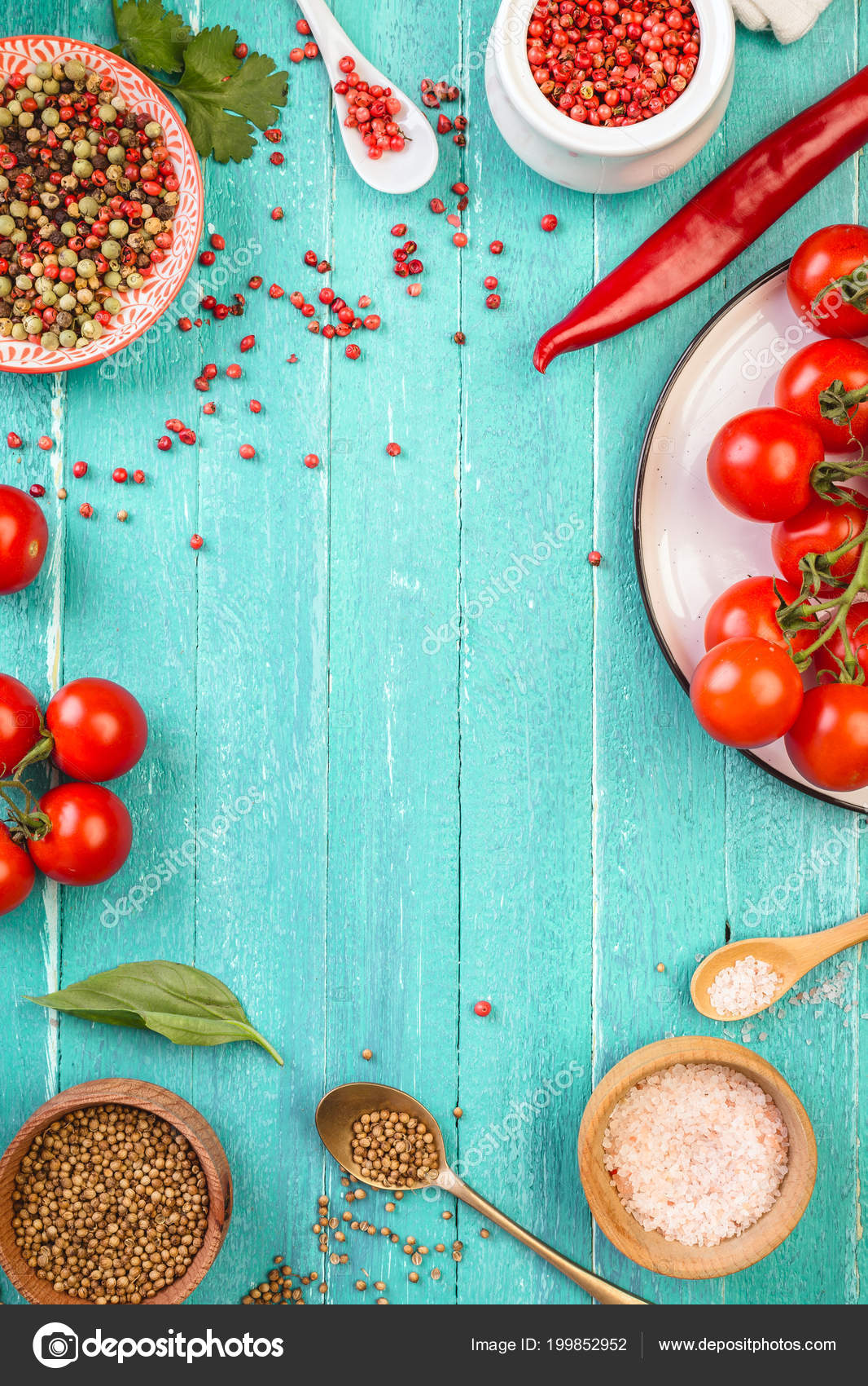 Red Food Background : background, Frame, Vegetables, Spices, Background, Stock, Photo,, Image, Yakovlevadaria, #199852952
