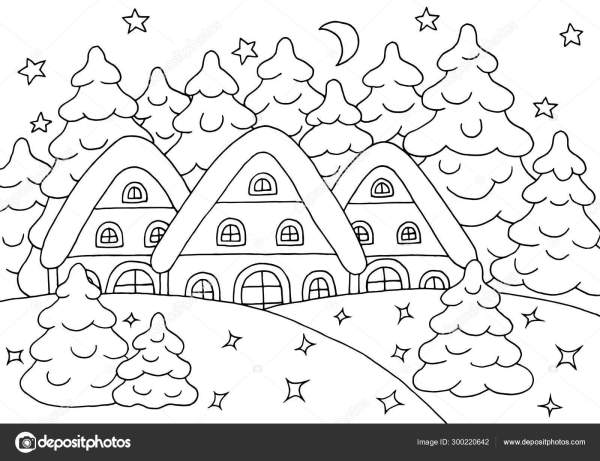 forest coloring page # 75
